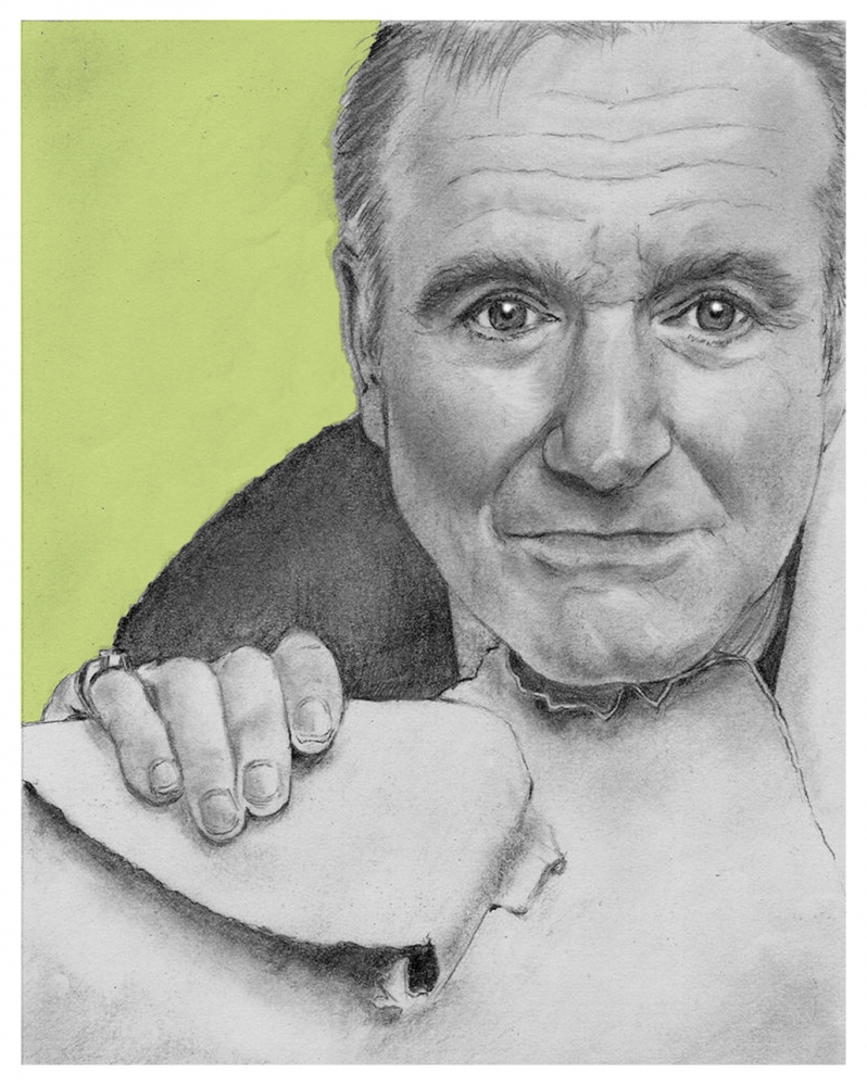 Robin Williams by nev777